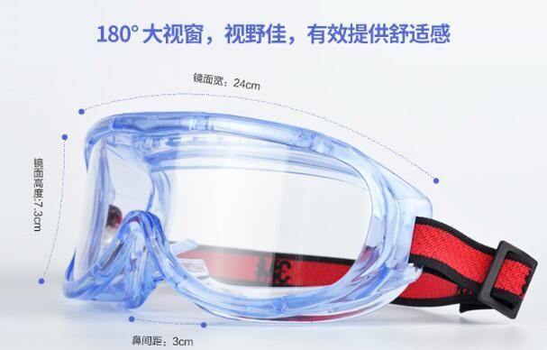 3M1623AF防护眼镜防尘沙