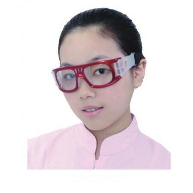 X射线防护铅眼镜HKD-2-1 防护眼镜带侧面(黑色)