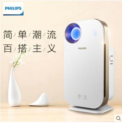飞利浦空气净化器AC4550家用室内客厅卧室智能去除甲醛
