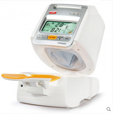 欧姆龙电子血压计HEM-1020 臂筒式